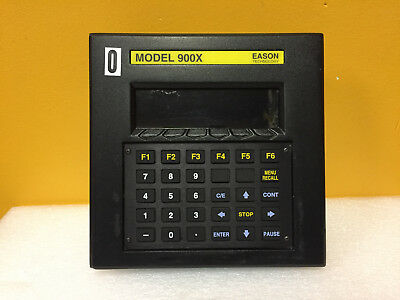 Eason Technology 900X 8 Line, 40 Ch, Back-Lit LCD Industrial Terminal. Tested!