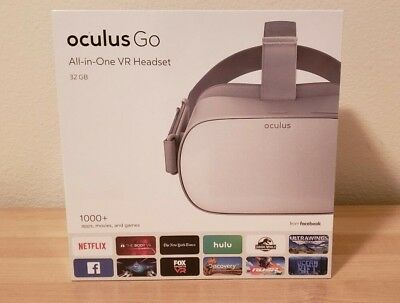 Oculus Go 32GB standalone VR Headset Brand new & sealed