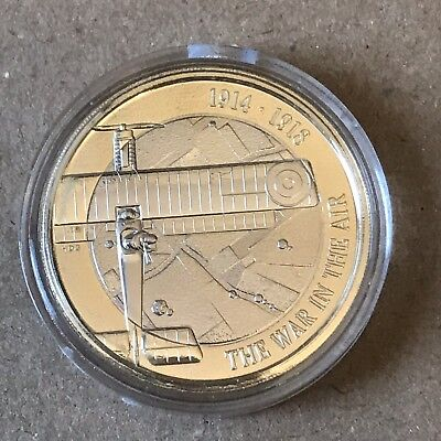 2017 WW1 Aviation £2 Two Pound Coin Brilliant Uncirculated Royal Mint BU