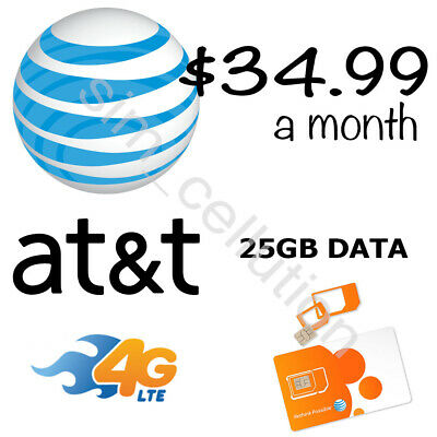 AT&T Unlimited Data Plan $35 a month | No Throttling | Own Your Plan | No Caps!