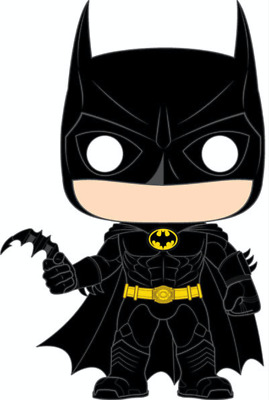 Funko POP! Batman 80th Anniv. - Batman (1989) - Michael Keaton - Batman Movie