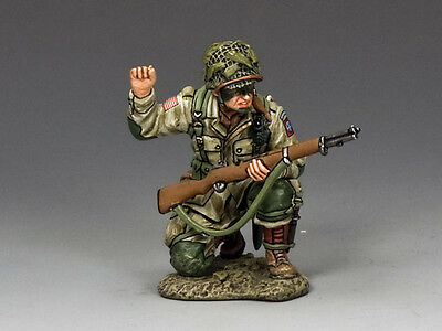 """KING & COUNTRY DD212 WWII D-DAY NORMANDY 1944 U.S. 82nd AB PARA """"THE SCOUT"""" MIB!"""