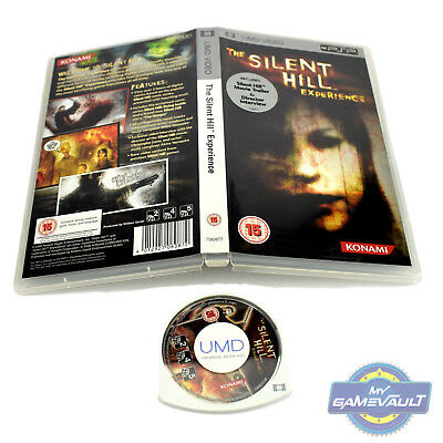 The Silent Hill Experience - PlayStation PSP UMD Video in VGC + Box Protector