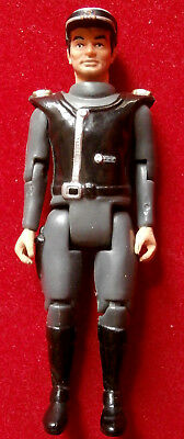 CAPTAIN SCARLET - CAPTAIN BLACK - 4 inches - 1993 - POSEABLE