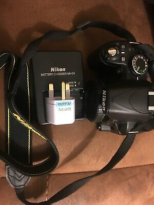Nikon D D3100 14.2MP Digital SLR Camera Body, Low Shutter Count 1300 - imaculate