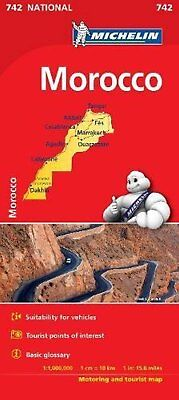 Morocco - Michelin National Map 742 (Michelin National Maps)