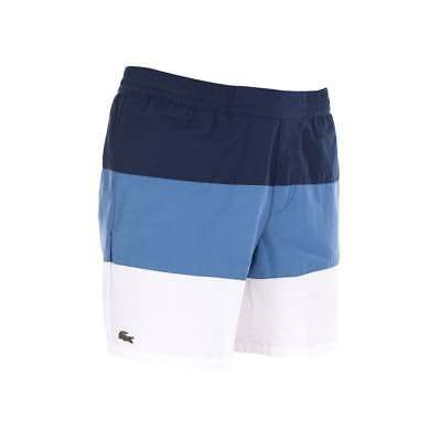 Colour Brand Shorts With Tags 5 Block Swim Uk Size Lacoste Large New Blue 1clFKJ