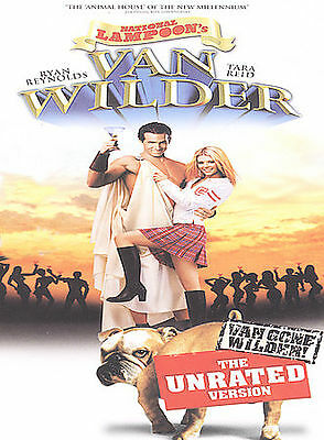National Lampoon's Van Wilder Unrated Version 2 DVD Set Ryan Reynolds NEW