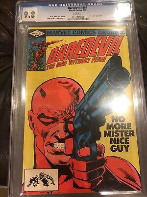 Daredevil #181 CGC 9.8 White Pages - Punisher appears