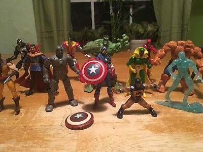 "Marvel Universe 3.75"" Lot of 30 Action Figures and custom Speedball MUST SEE!"