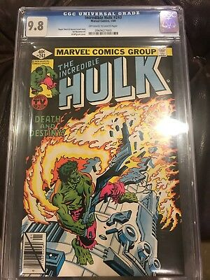 The Incredible Hulk #243 CGC 9.8 Off-White To White Pages