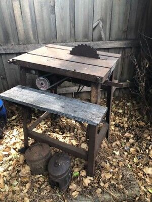 old bench saw