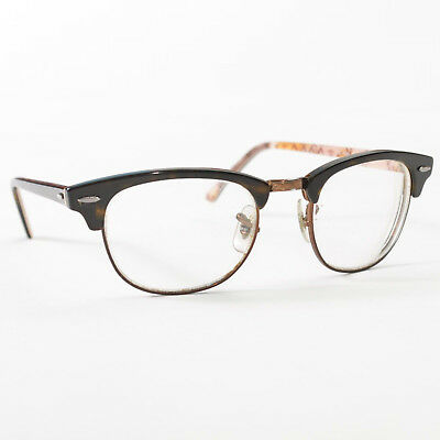 edc96d1ff Ray Ban Clubmaster Optics Tortoise Prescription Glasses 49 21 140 RB5154  5650