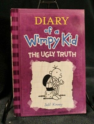 Diary of a Wimpy Kid The Ugly Truth like NEW Paperback Book #5~ Jeff Kinney