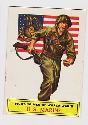 1965 TOPPS Battle Card #56--The United States Marines--Very Good Condition