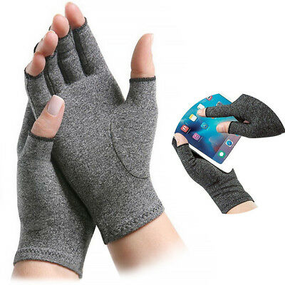 Anti Finger Hand Arthritis Brace Support Gloves Pain Relief Compression Cure