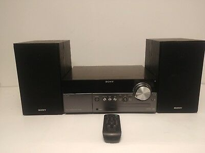 Sony CMT-MX500i Micro HI-FI Stereo System Speakers iPod Dock CD MP3 Player