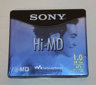 Sony Blank Recordable MiniDisc Hi-MD 1GB Brand New Sealed HMD1GL