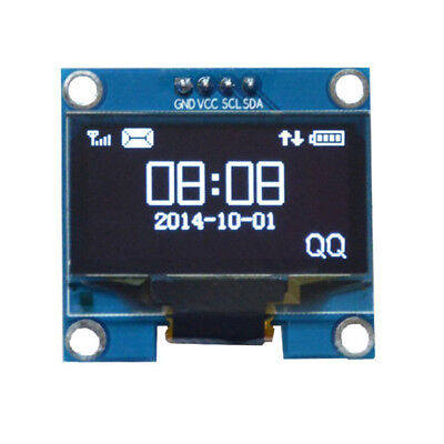 "1.3"" White OLED LCD 4PIN Display Module IIC I2C Interface 128x64 for Arduino A"