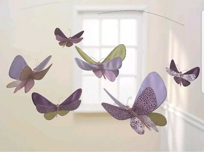 Lambs and Ivy Luv Bugs Ceiling Sculpture, Plum