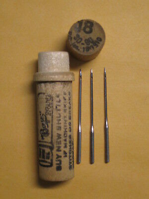 Boye Wheeler & Wilson D9, Singer 9W 127x1 Sewing Machine Needles, W9