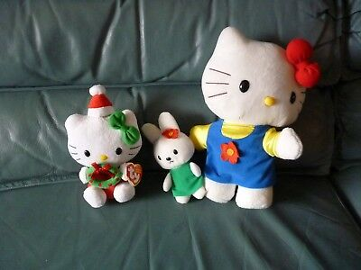 HELLO KITTY & Friends KITTY with Bunny Friend / CHRISTMAS KITTY NEW NWT - MORE