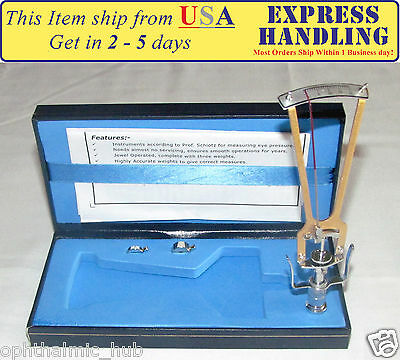 Riester Schiotz Tonometer for Optometry with Blue Case and Free Shipping