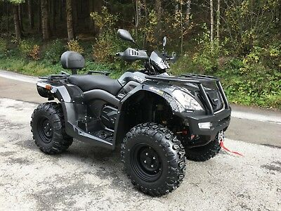 Quad ATV CF-Moto Goes Iron MAX EFI 4x4 Langversion