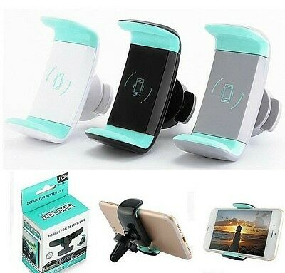 Universal RETAIL PK 360 ROTATION Air Vent Car Mount Holder for Phone Mobile USA