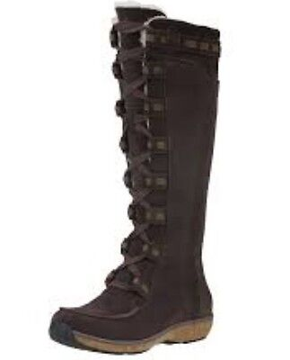 Timberland Women s Earthkeepers Granby Tall Waterproof Brown Boot  8449A. d7034154a