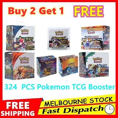 324pcs Pokemon TCG Booster Box English Edition Break Point 36 Packs Cards AU