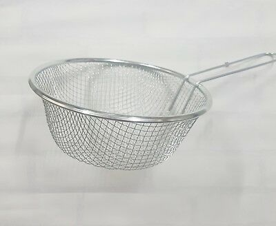 Wire Chip Deep Fry Basket Round 20cm