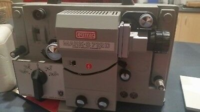 Eumig Marks S710D Movie/Film Projector  Super8, Single8 and Standard8-Mint Cond