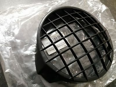 Vespa PX LML Black Head Light Headlamp Grille Genuine Cuppini