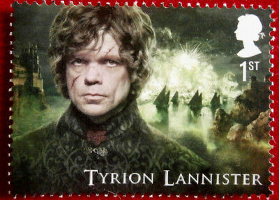 Game of Thrones: TYRION LANNISTER - FIRST CLASS ROYAL MAIL STAMP - MINT