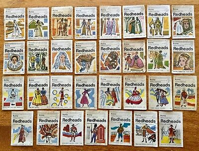 Brymay. Redheads. Matchbox Labels. Costumes x 31 Different