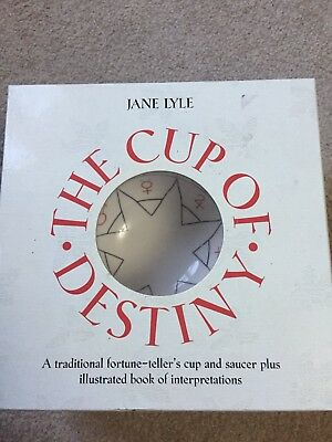 Fortune Tellers Cup Never Used In Original Box With Instructions