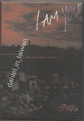 Stray Kids: I am Who / You 2019 TAIWAN SPECIAL EDITION CD & DVD & 2 CARD SEALED