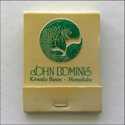 John Dominis Kewalo Basin 43 Ahui St Honolulu 5230955 Matchbook (MK46)