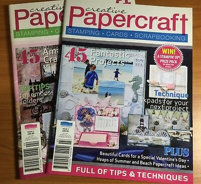Creative Papercraft - Issue 3 & Issue 4
