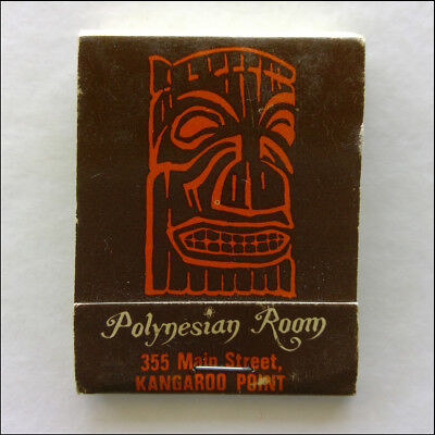 Polynesian Room 355 Main St Kangaroo Point 915566 Matchbook (MK46)