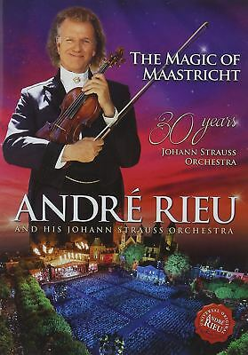 Andre Rieu The Magic Of Maastricht 30 Years Of Johann Strauss DVD (New)