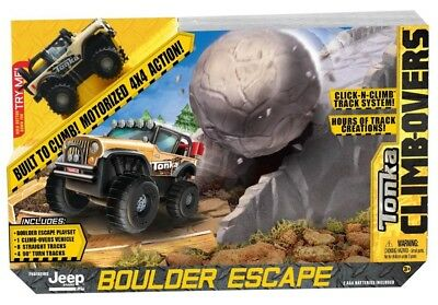 NEW Tonka Climbovers Boulder Escape Playset from Mr Toys