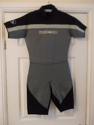 Small / Medium Adult Men's EUR42 3mm Tribord shortie wetsuit