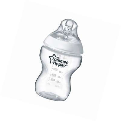 Tommee Tippee Closer to Nature Clear Bottle, 260 ml