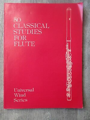 50 Classical Studies For Flûte  Universal Wind Series    Vester  partition Flûte