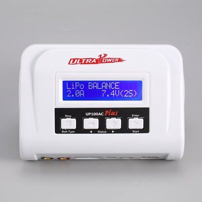 ULTRA POWER P#100AC Plus 100W AC/DC for LiIo/LiPo/LiFe/LiHv Power Charger P#