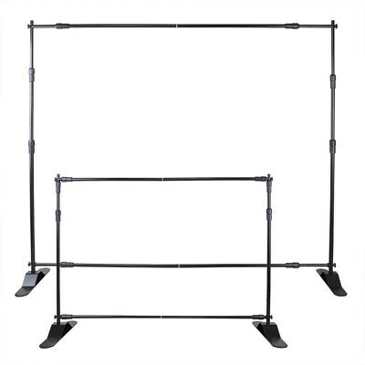 8' Banner Stand Advertising Printed Display Adjustable Show Promotion POPULAR