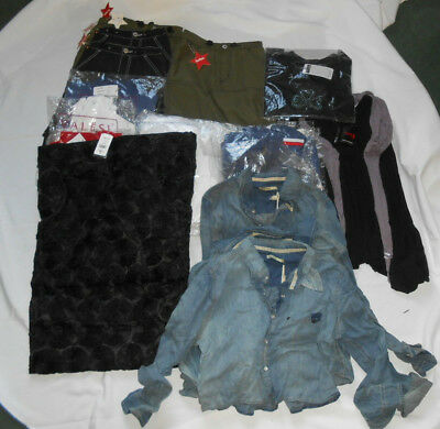 Job Lot 23 x Women & Girls Clothing Dress,Denim Shirts etc Brand New