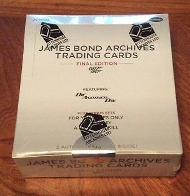 James Bond Archives Final Edition 007 Sealed Box